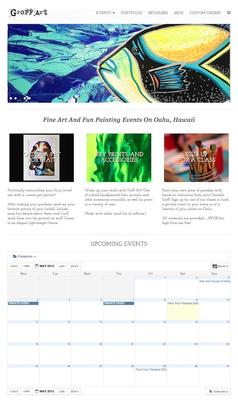 hawaii-web-design_GroffArt-Home