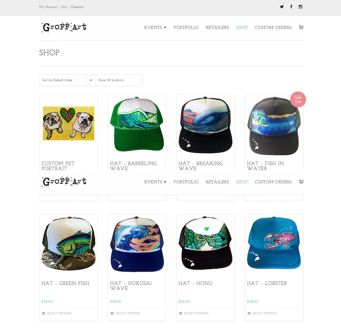 hawaii-web-design_GroffArt-Shop