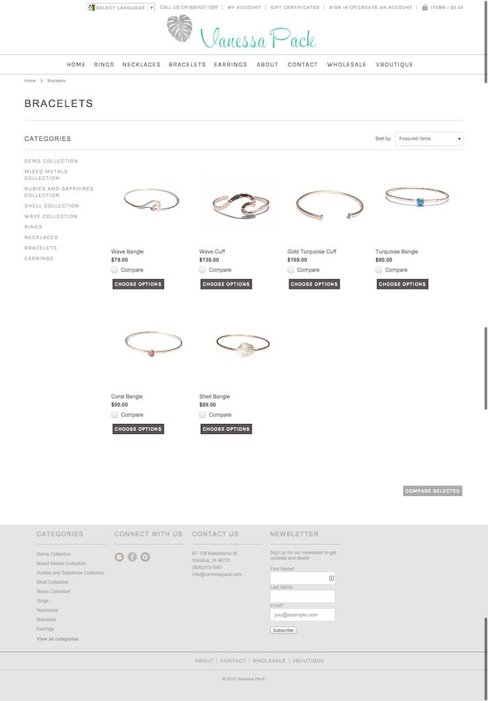 hawaii-web-design_VanessaPack-Shop