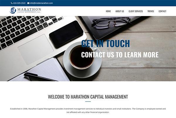 hawaii web design investment banker wealth management