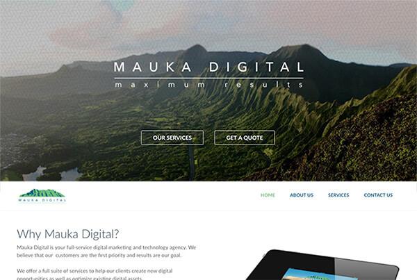 hawaii web design digital marketing agency