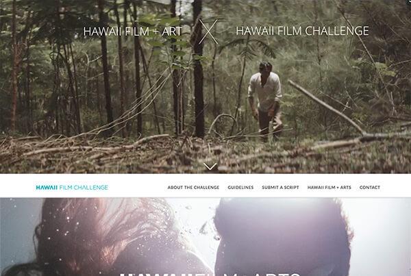 hawaii web design film challenge art
